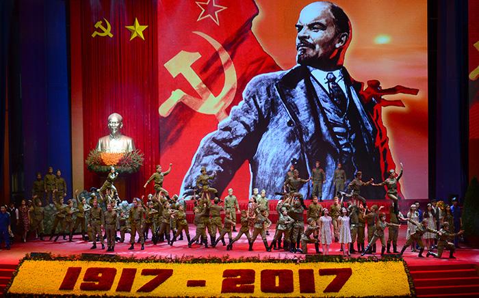 Hình ảnh tại Lễ kỷ niệm 100 năm Cách mạng Tháng Mười Nga