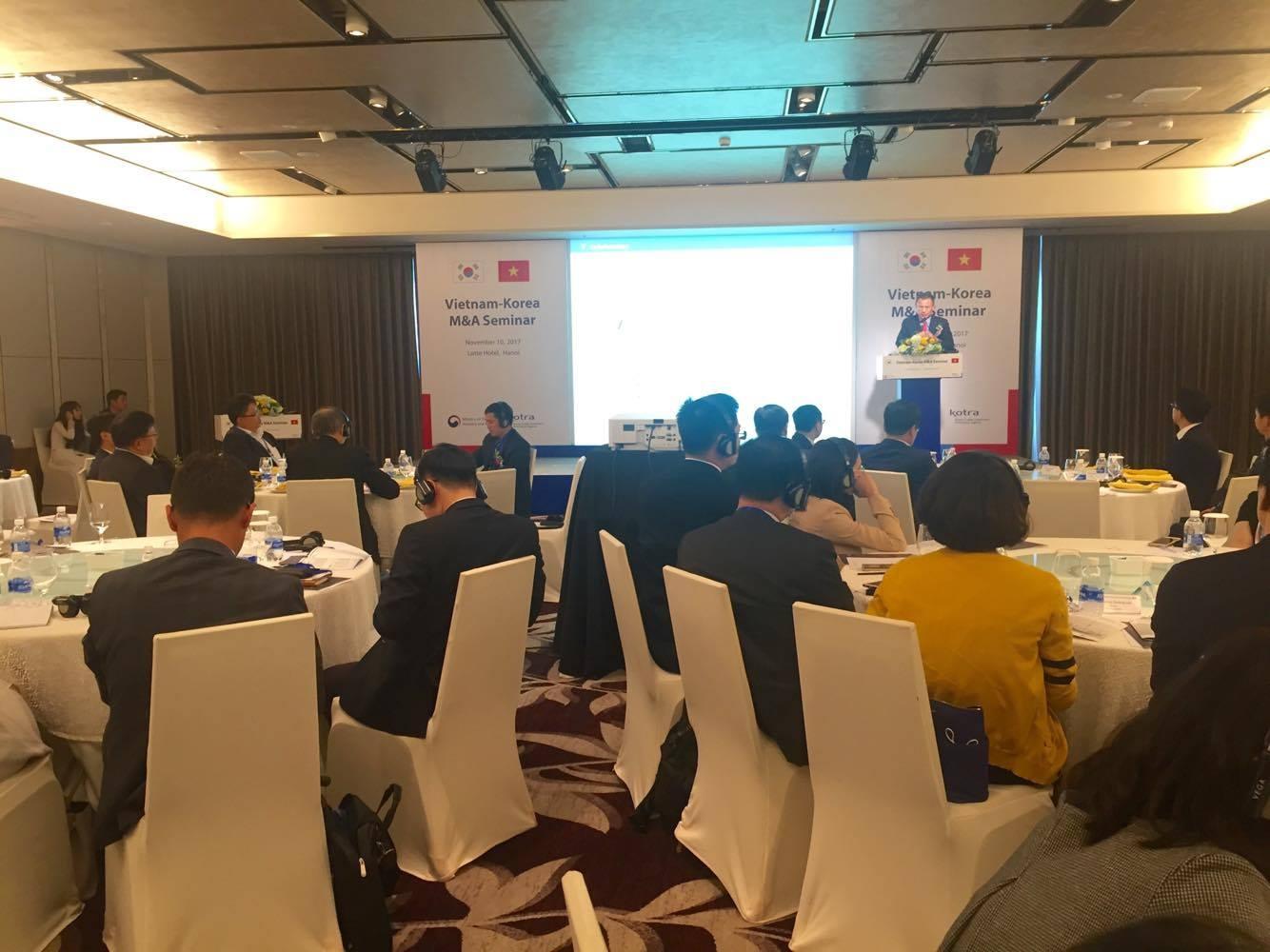 Tăng cường hợp tác lĩnh vực giao thương Việt Nam - Hàn Quốc