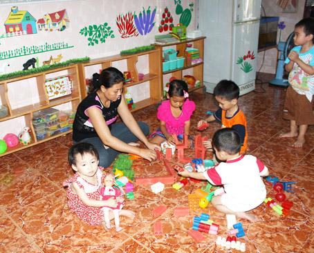 Đồng Nai: Sẽ hỗ trợ trang bị cơ sở vật chất cho các nhóm trẻ tư thục