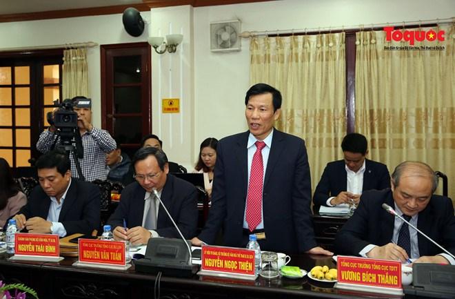 Bộ trưởng Bộ Văn hoá, Thể thao và Du lịch làm việc tại Hà Nam