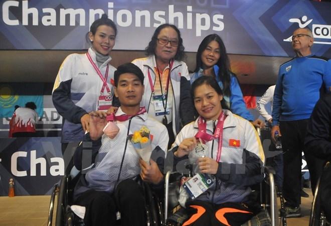 Giải Vô địch bơi dành cho người khuyết tật thế giới 2017: Việt Nam giành thêm 2 huy chương