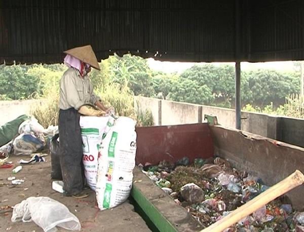 Hưng Yên còn trên 50% thôn chưa có điểm tập kết rác thải