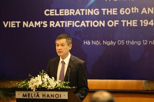 Thúc đẩy thực thi các Công ước Giơ-ne-vơ về luật nhân đạo quốc tế
