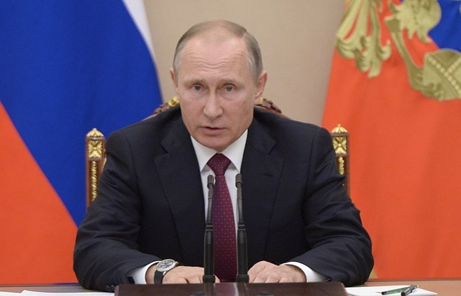Vladimir Putin - Hình ảnh trỗi dậy mạnh mẽ của nước Nga
