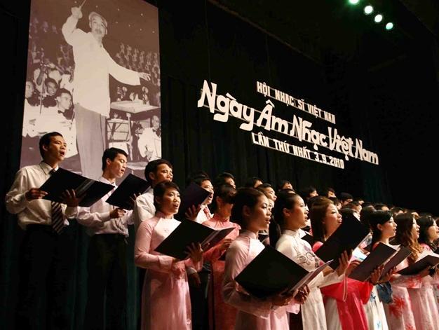 Hội Nhạc sĩ Việt Nam – 60 năm đồng hành cùng dân tộc