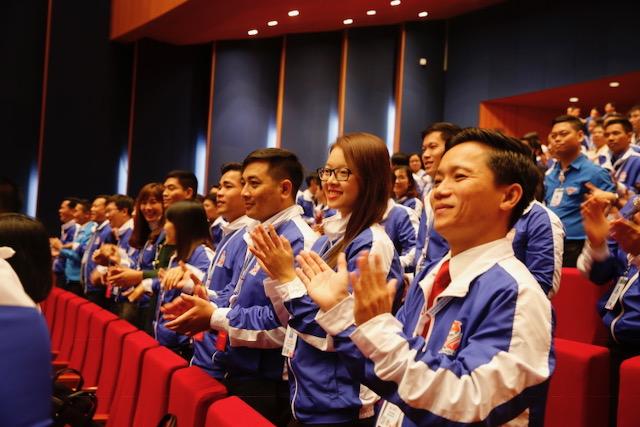 Phiên làm việc thứ nhất Đại hội Đoàn TNCS Hồ Chí Minh lần thứ XI