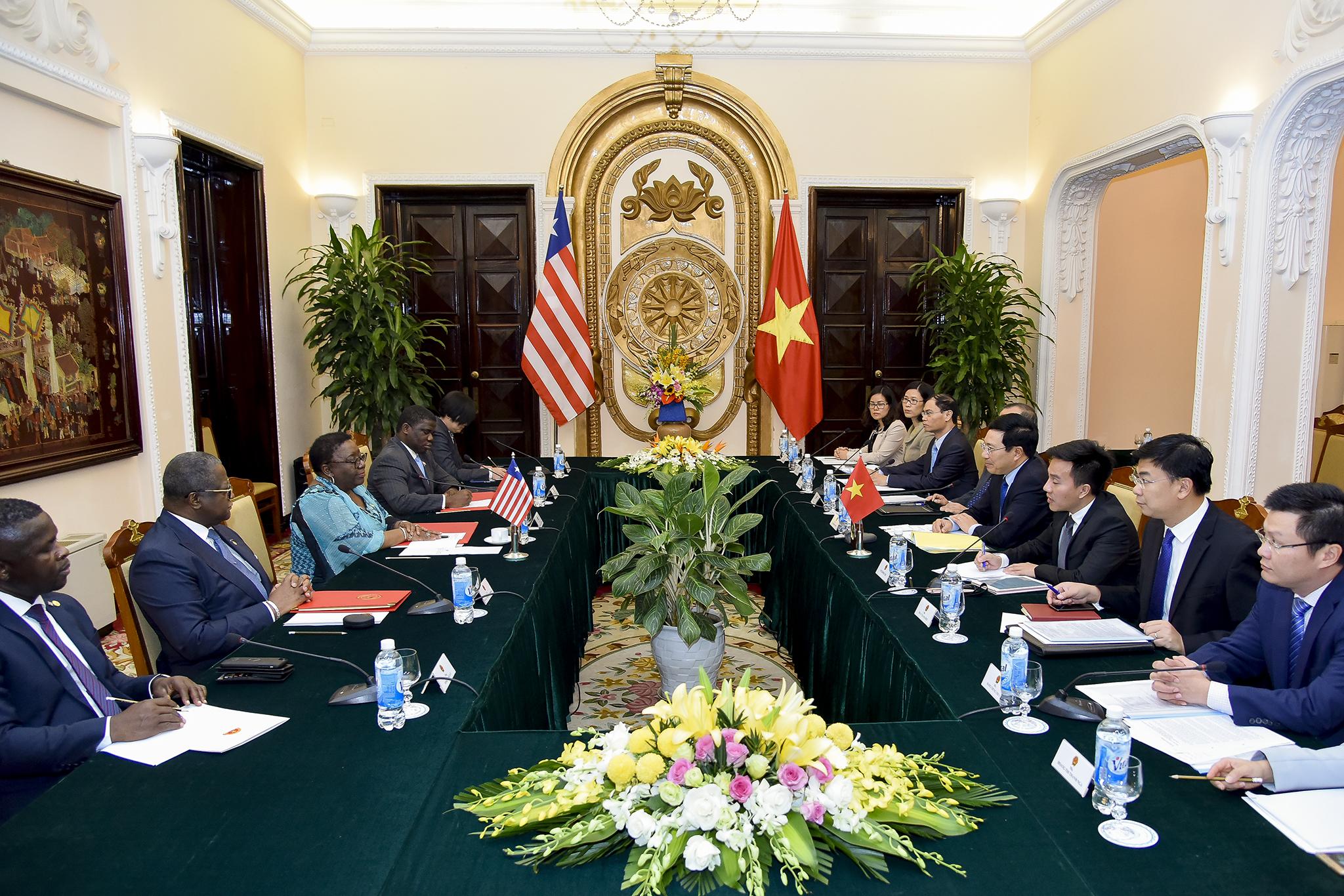 Thúc đẩy hợp tác song phương Việt Nam - Li-bê-ri-a