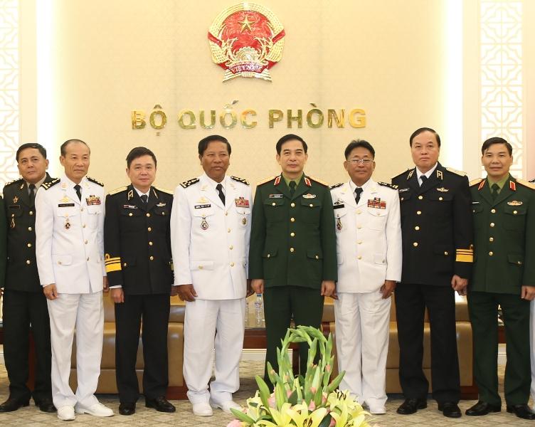 Tăng cường hợp tác giữa Hải quân Việt Nam và Hải quân Hoàng gia Campuchia