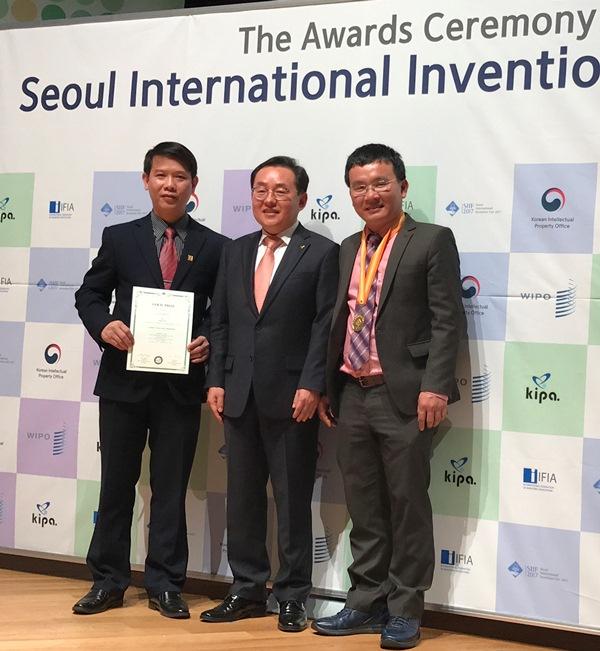 Công trình khoa học của Việt Nam được đánh giá cao tại Hàn Quốc