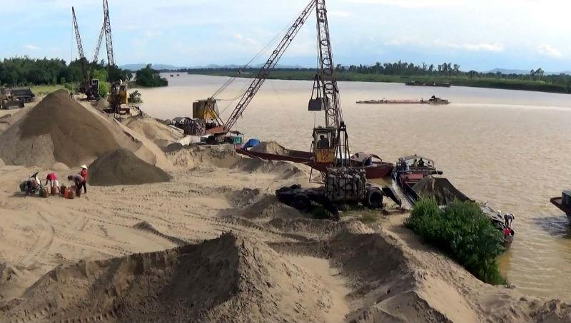Tiền Giang: Xử lý nghiêm vi phạm trong khai thác khoáng sản