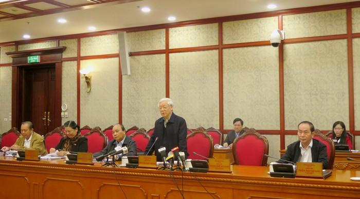 Bộ Chính trị cho ý kiến về kết quả kiểm tra công tác cán bộ