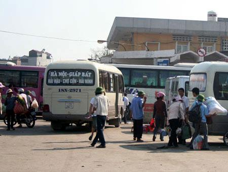 Vĩnh Phúc: Vận tải hành khách và hàng hoá duy trì tăng trưởng