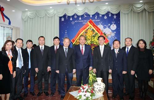 Phó Thủ tướng Trương Hòa Bình chúc mừng đồng bào công giáo nhân lễ Giáng sinh