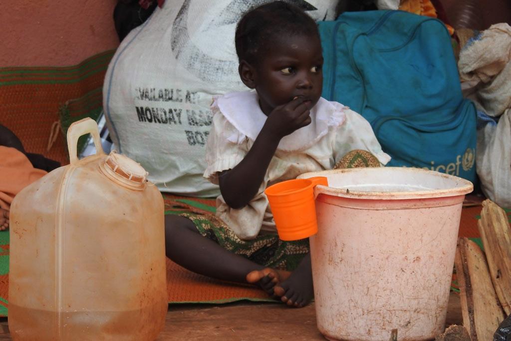 Một năm khó khăn đối với trẻ em Cộng hòa Trung Phi