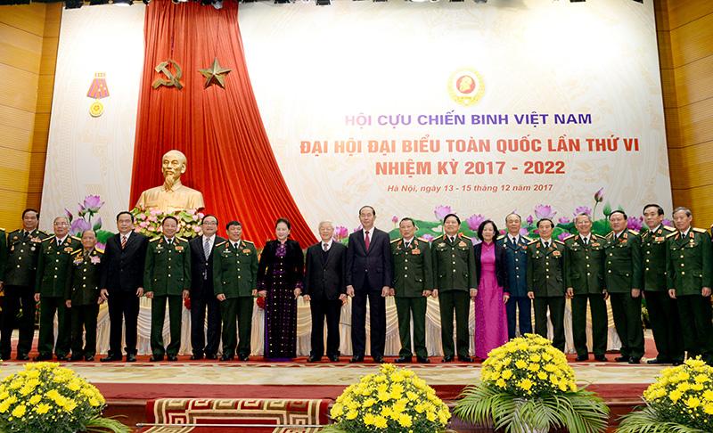 Khai mạc trọng thể Đại hội đại biểu toàn quốc Hội Cựu chiến binh Việt Nam lần thứ VI