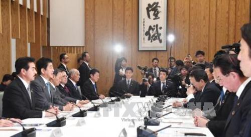 Chính phủ Nhật Bản bàn cách đối phó tình huống bất ngờ trên Bán đảo Triều Tiên