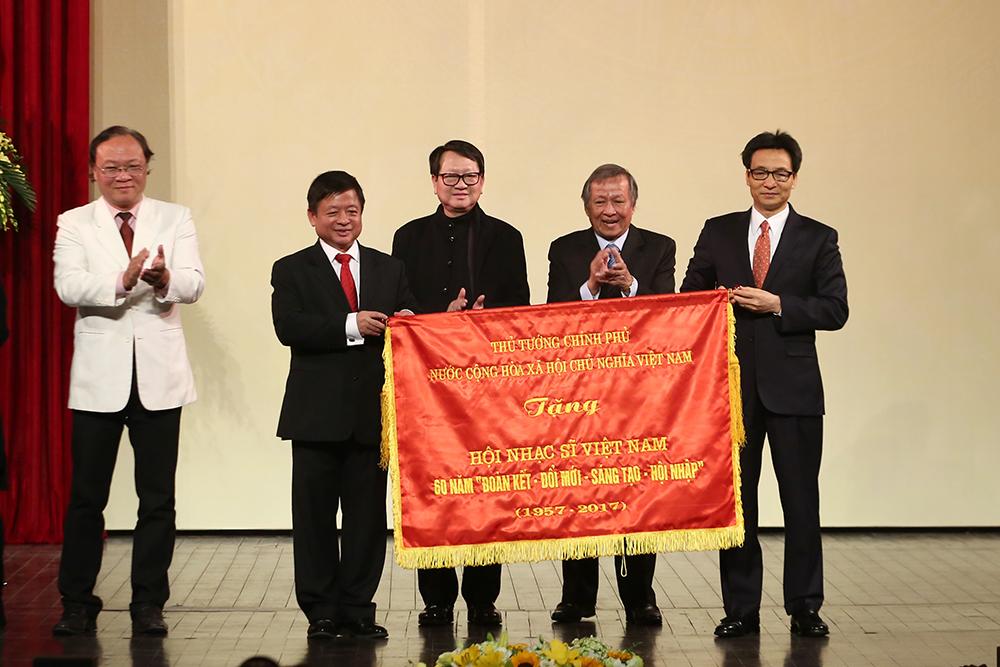Hội Nhạc sĩ Việt Nam kỷ niệm 60 năm thành lập