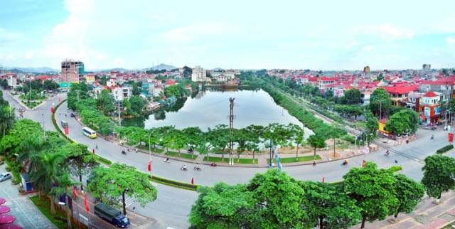 Phát triển đô thị xanh tại Vĩnh Yên (Vĩnh Phúc)