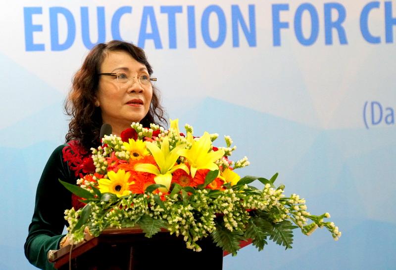 Tăng cường tiếp cận giáo dục cho trẻ khuyết tật