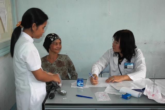 Vĩnh Phúc: đẩy mạnh công tác chăm sóc sức khỏe cộng đồng