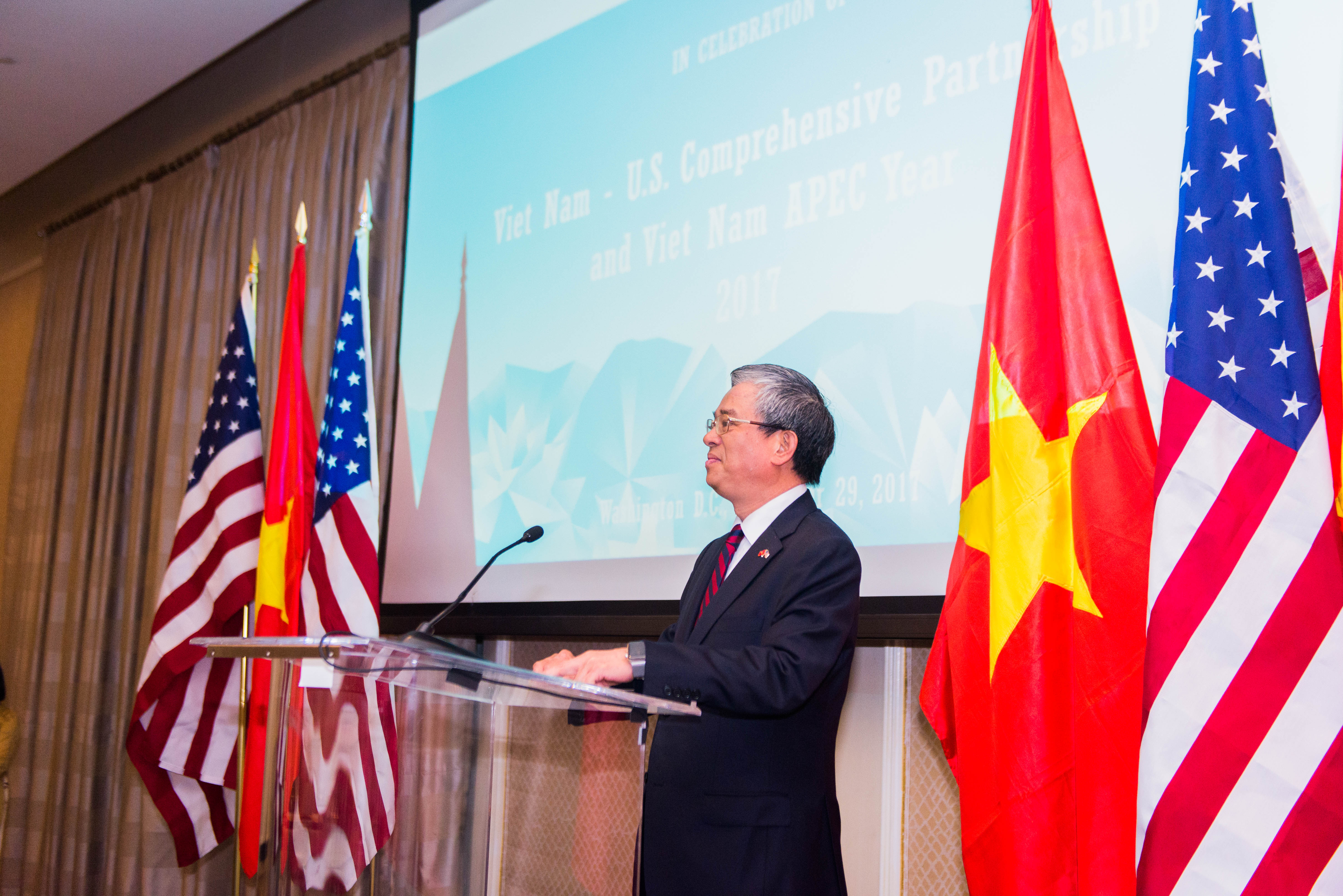 Chiêu đãi chào mừng quan hệ Đối tác Toàn diện Việt Nam – Hoa Kỳ