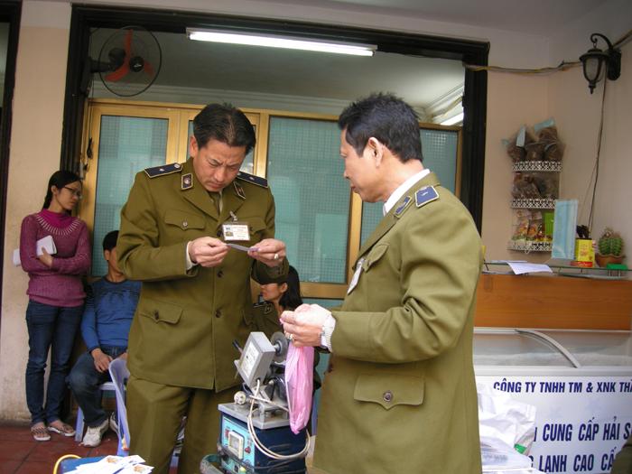 Lập Thạch: tăng cường kiểm tra hoạt động kinh doanh thương mại