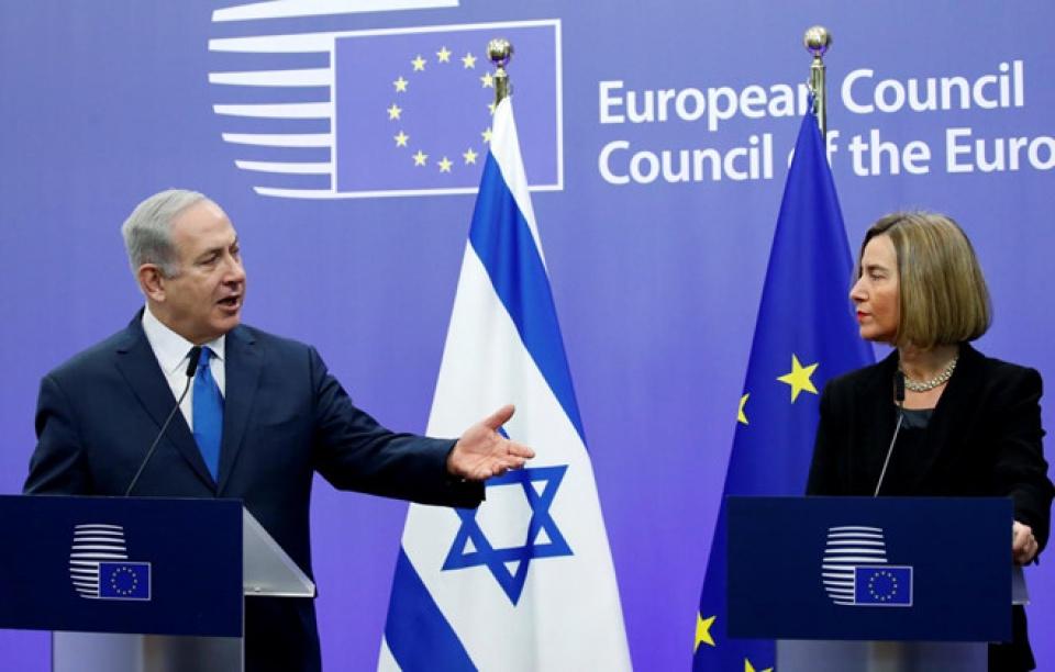 Liên minh châu Âu từ chối công nhận Jerusalem