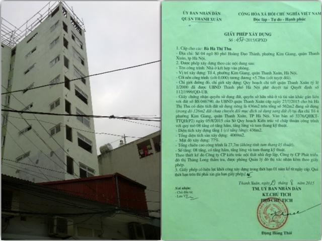 Hà Nội: Xử lý nghiêm cán bộ thanh tra xây dựng có sai phạm