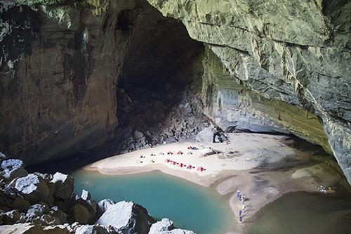 Phát hiện 58 hang động mới ở Quảng Bình