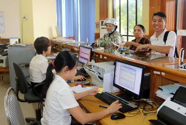 Huyện Lập Thạch: chủ động trong giải quyết thủ tục hành chính cho người dân