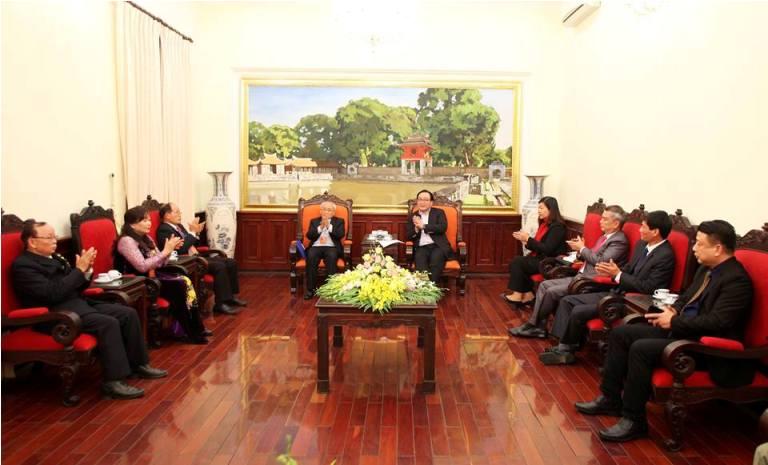 Đồng bào Công giáo Thủ đô đóng góp tích cực cho sự phát triển chung của Thành phố