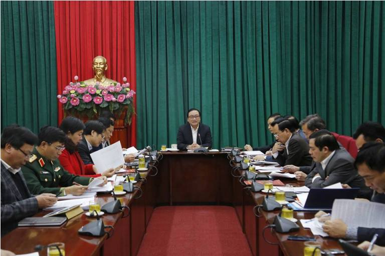Hà Nội tiếp tục xây dựng tổ chức cơ sở Đảng, giải quyết các vấn đề phức tạp về an ninh, trật tự