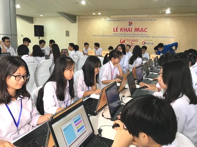 Hà Nội quy định về các cuộc thi cho học sinh phổ thông