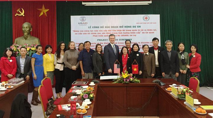 Nâng cao năng lực của Hội Chữ thập đỏ Việt Nam trong quản lý rủi ro thiên tai