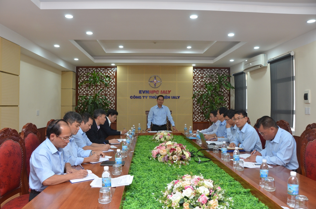 Kiểm điểm công tác lãnh đạo, chỉ đạo của tập thể Đảng ủy Công ty Thủy điện Ialy