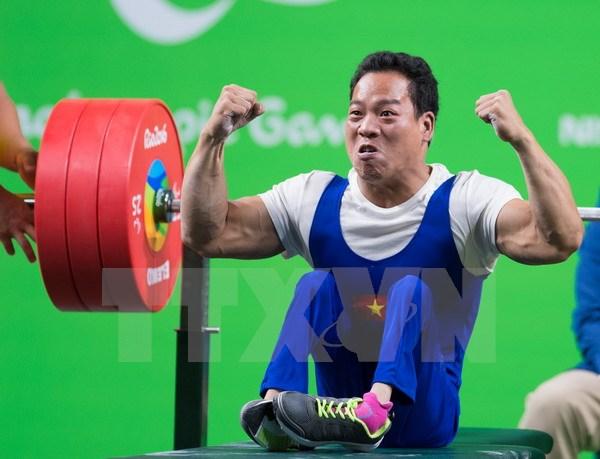 Giải Vô địch cử tạ dành cho người khuyết tật thế giới 2017: Đoàn Việt Nam đạt thành tích xuất sắc