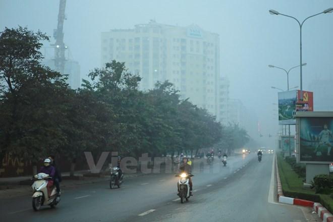 Bắc miền Trung mưa rét, miền Bắc sáng sớm có sương mù, vùng núi cao rét đậm