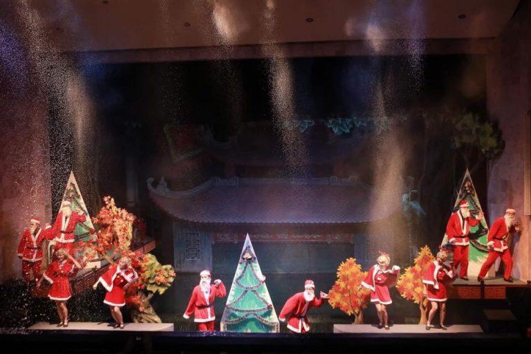 Chương trình múa rối Chào năm mới 2018
