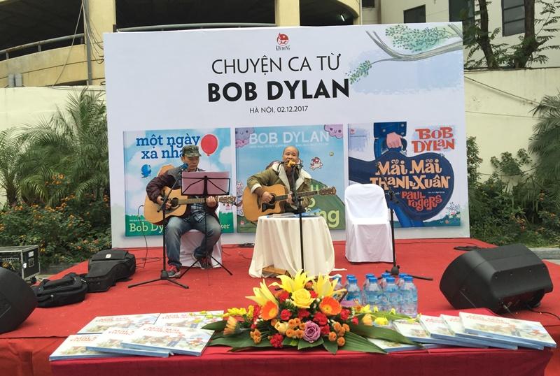 Ra mắt sách tranh của Bob Dylan