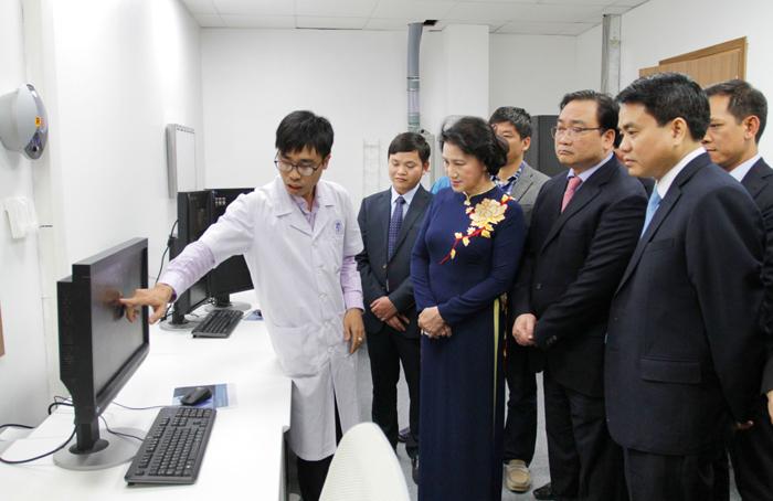 Trung tâm Kỹ thuật cao và Tiêu hóa Hà Nội – Điểm sáng mới của ngành Y tế Thủ đô