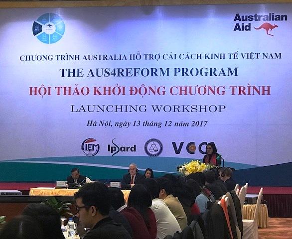 Australia hỗ trợ Việt Nam cải thiện môi trường kinh doanh