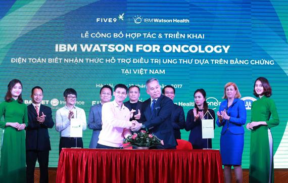 Triển khai công nghệ điện toán nhận thức hỗ trợ điều trị ung thư