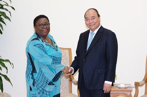 Thủ tướng tiếp Bộ trưởng Bộ Ngoại giao Liberia
