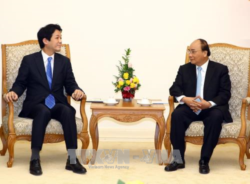 Nhật Bản mong muốn thúc đẩy quan hệ hữu nghị, hợp tác với Việt Nam