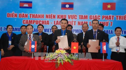 Tuyên bố chung Diễn đàn thanh niên Khu vực tam giác phát triển Campuchia-Lào-Việt Nam