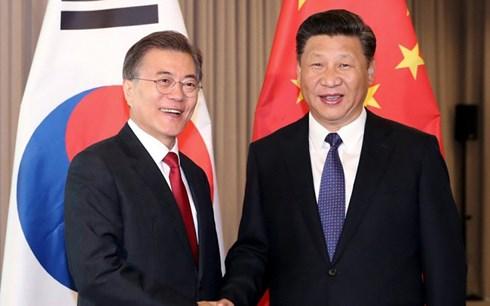 Tổng thống Hàn Quốc lần đầu tiên thăm cấp nhà nước Trung Quốc