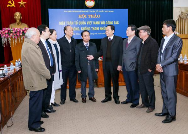 Phát huy hiệu quả hoạt động của MTTQ Việt Nam trong công tác phòng, chống tham nhũng