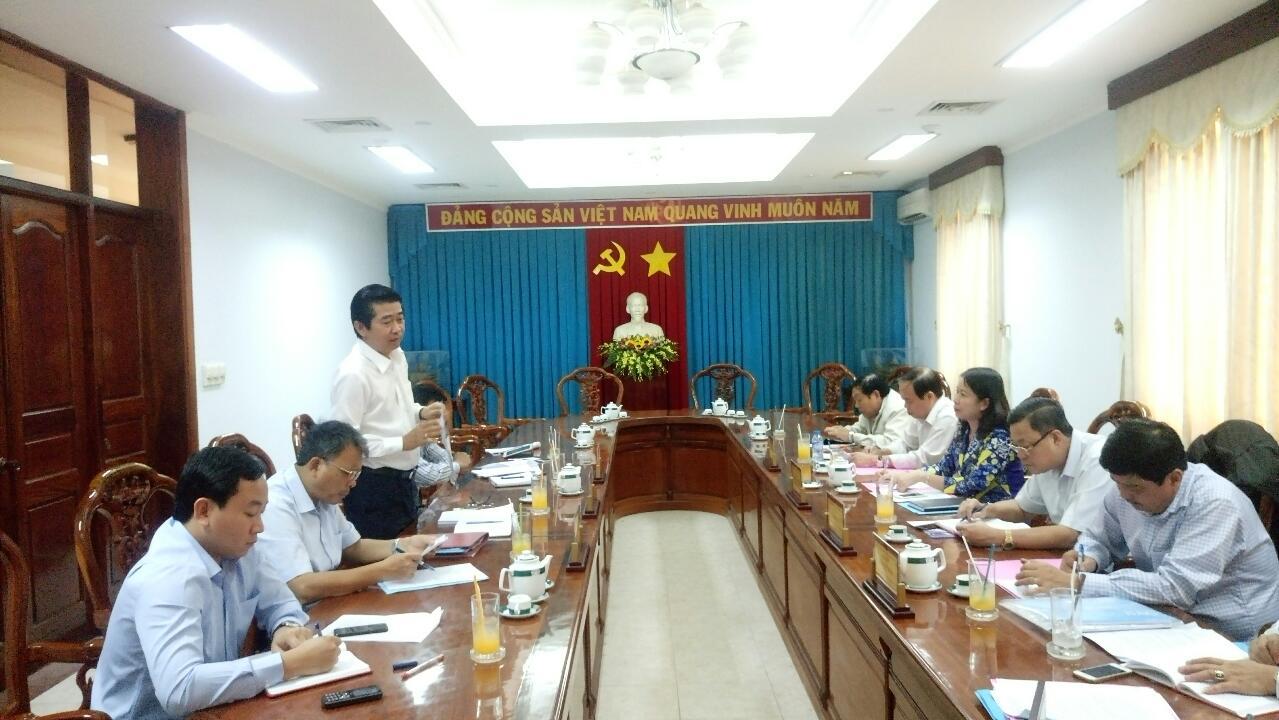 Đoàn công tác Ban Nội chính Trung ương làm việc với Thường trực Tỉnh ủy An Giang
