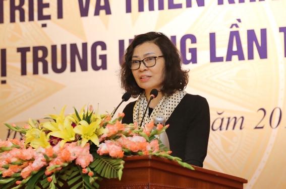 Đảng bộ cơ quan BHXH Việt Nam học tập, quán triệt Nghị quyết Trung ương 6 khoá XII