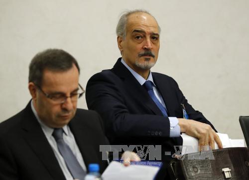 Phái đoàn Chính phủ Syria từ chối đối thoại với phe đối lập tại bàn hòa đàm Geneva